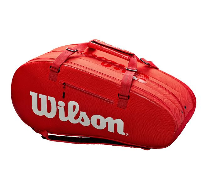 Wilson Super Tour 3 Compartment Red